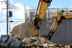 長井建工では家屋解体も行っています。